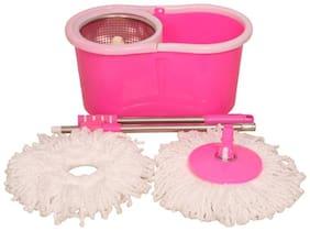 Ranveer trading pink steel 360 mop