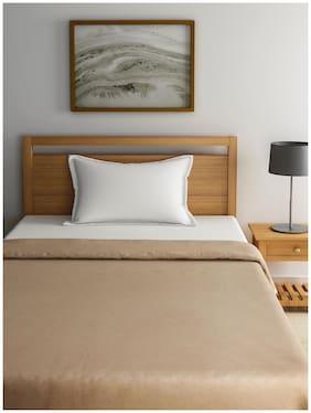 Raymond Home Brown Single Blanket