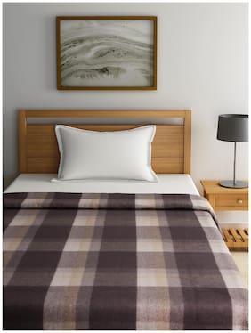 Raymond Home Grey Single Blanket