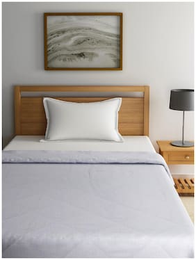 Raymond Home Wool Solid Single Size Comforter White