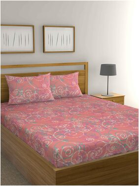 Raymond Home Double bedsheet with 2 pillow Cover Exclusive