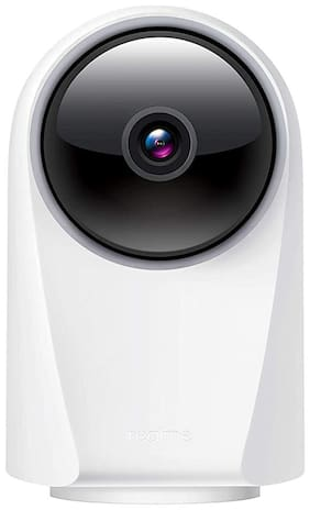 Realme 360 Deg 1080p Full HD WiFi Smart Security Camera (White) | Alexa Enabled | 2-Way Audio | Night Vision | Motion Tracking & Intruder Alert