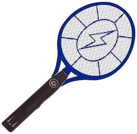 Rechargable Electric Mosquito Fly Insect Killer Racket Zapper Bat - Assorted (With LED Torch)(Assorted-mix)