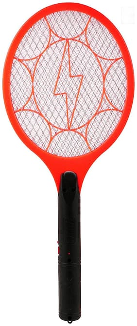 Rechargeable Mosquito Fly Insect Killer Racket Zapper Bat (Assorted Colros)