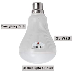 Rechargeable Emergency Inverter LED Bulb 25-W (Power Backup Upto 5 hr) (Auto On)