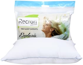 Recron Certified Euphoria Pillow; Size - 68 CM (17 Inch) x 43 CM (27 Inch) Pack of 1