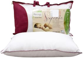 Recron Certified Superia Pillow; Size - 68 CM (17 Inch) x 43 CM (27 Inch) Pack of 1