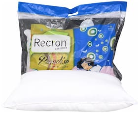 Recron Certified Paradise Pillow; Size - 60 CM (16 Inch) x 40 CM (24 Inch) Pack of 1