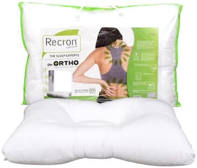 Recron Certified DR. Ortho Pillow; Size - 60 CM (16 Inch) x 40 CM (24 Inch) Pack of 1