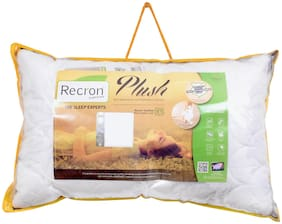 Recron Certified Plush Pillow; Size - 68 CM (17 Inch) x 43 CM (27 Inch) Pack of 1