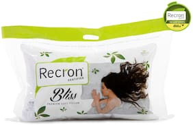 Recron Certified Bliss Pillow; Size - 60 CM (16 Inch) x 40 CM (24 Inch) Pack of 1