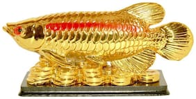 Red Ballons Feng Shui Arowana Fish for prosperity, wealth, strength, good luck, happiness and power