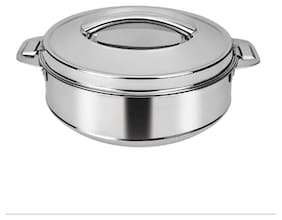 Rema - Stainless Steel Insulated Casserole- 3500ml - Approx 1.5 kgs Rice