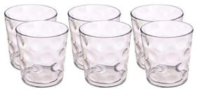 Rema Multipurpose Plastic Drinking Glass Set of 6 pcs, 200 ml