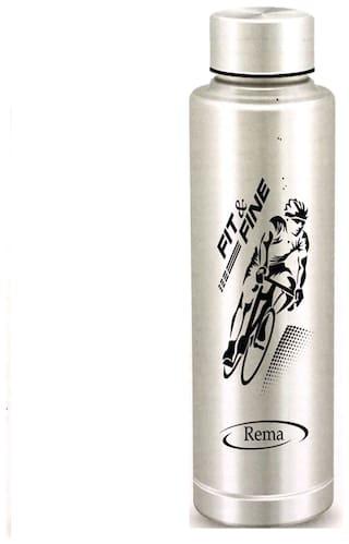 10aae3b2386 Buy Rema - Stainless Steel Water Bottle - 1000ml - 1 Litre - BPA ...