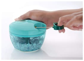 Rema - Vegetable and Fruit Handy Chopper and Cutter, Slicer, Grater for Kitchen with Steel Blades (Small)