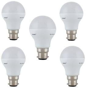 REMEN 3 Watt |B22 AC| Cool White||Led Bulb|(Pack of 5)