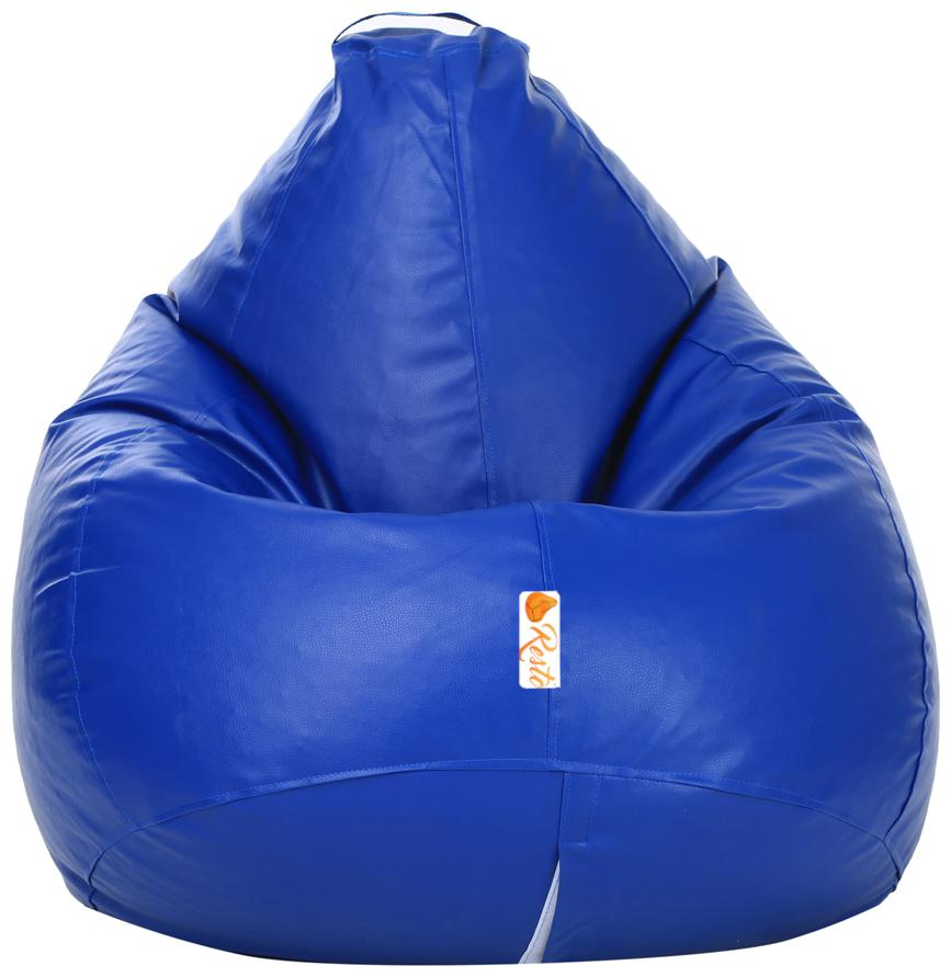 Resto Classic XXL Bean Bag Cover Without Beans   Blue by Shiv High Techno