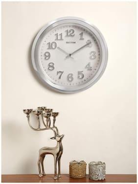 Rhythm Plastic Analog Wall clock ( Set of 1 )