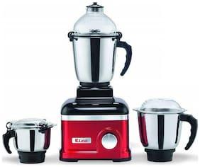 Rico MG-1808-1HP 745 WATTS Mixer Grinder ( Red , 3 Jars )