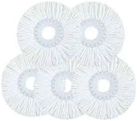 Right traders Replacement Micro Mop Head Refill For Standard Universal Spin Mop 5pc