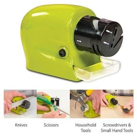 Right traders Electric Knife Sharpener, Motorized Knife Blade Sharpener, Kitchen Knives Sharpening Tool for Home & Kitchen or Hotel