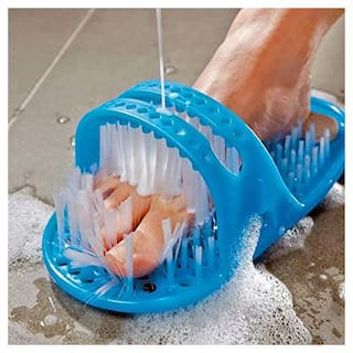 Right traders Waterproof Easy Foot Cleaner Shower Slipper for All Age groups foot cleaning brush foot cleaner slipper Easy Feet Foot Cleaner/Easy Bath Brush/Shower Foot Cleaner