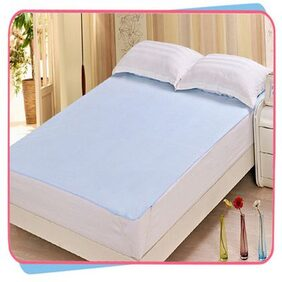 Rite Clique Double Bed Sheet with Elastic Straps, Waterproof, Mattress Protecting