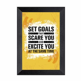 Ritwika'S Motivational Quotes Frames Modern Art Mattetextured Painting