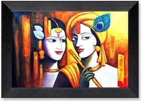 Ritwika'S Radha Krishna Religious Mattetextured Frame