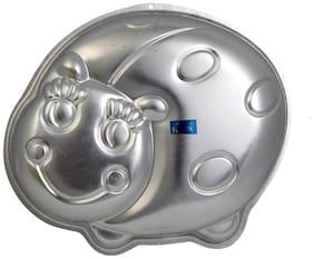 Rolex Aluminium Cake Mould Pans  Beetle 1 Kg. Cake