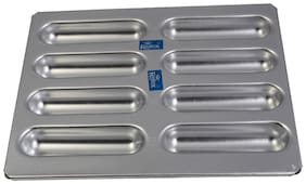 Rolex Aluminium Muffin Bakeware Tray Finger  clair 8 Cavity