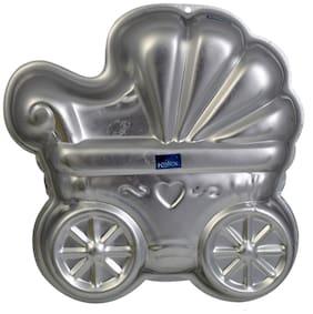 Rolex Aluminium Cake Mould Pans  Baby Pram 1 Kg. Cake