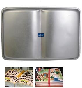 Rolex Aluminium Cake Mould Pans  Open Book 1 Kg. Cake