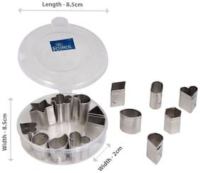 Rolex Pastry & Biscuit Cutters K09 Small 15 in 1
