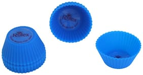 Rolex Silicon Mould Muffin Cup Cake set of 10 Smal