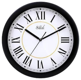 Safal Mdf with melamine Analog Wall clock ( Set of 1 )