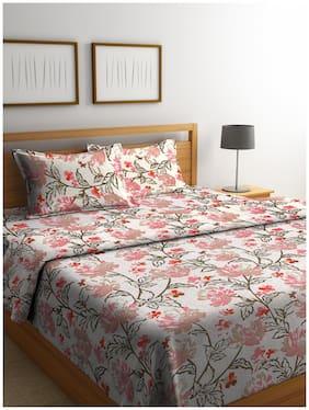 ROMEE Cotton Floral King Size Bedding Set