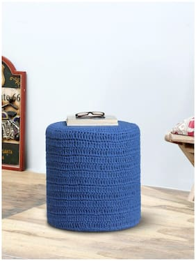 Romee Hand Knitted Sitting Ottoman/Pouffe For Living Room