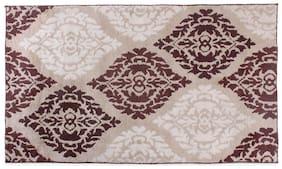 ROMEE Polyester Carpet for Living Room - Beige