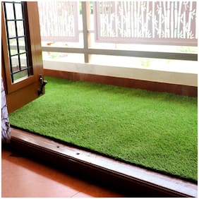 Ronakcreation Artificial Grass - Soft Grass - Use As Balcony;Garden;Carpet and Lawn (4 ftx 10 ft)-25mm Mat Thickness