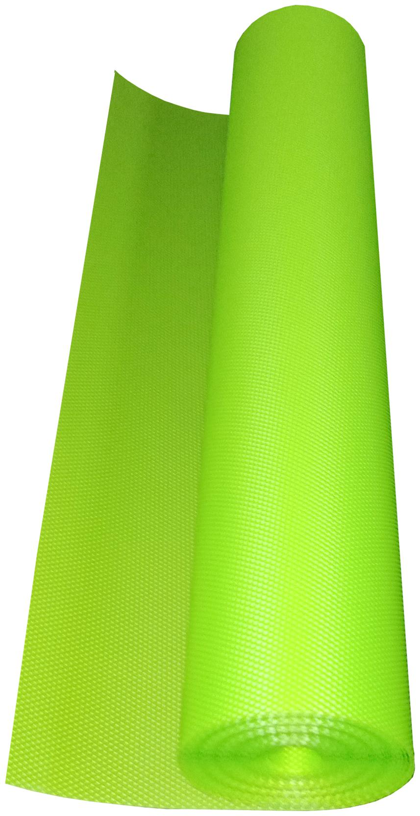 Ronakcreation PVC Anti-Slip Eva Mat Full Length 3 Meter For Kitchen;Drawer;Fridge Mats (Green)