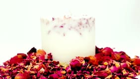 Anrh Wax White Scented candle