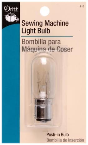 Rosh Dritz Sewing Machine Light Bulb for Sewing Product, Push type Bayonette Cap