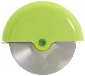 Round Pizza Cutter - Smooth Slicing Pizza Wheel Wheel Pizza Cutter (Multicolor) 1Pc