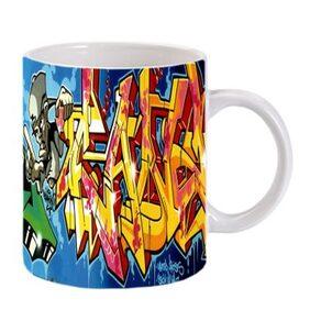 Route to root ceramic printed  coffee mug