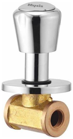 Royal Brass Concealed Stop Cock 3/4 (20mm) With Concealed Flange (Concealed Disc Fittting | Quarter Turn)
