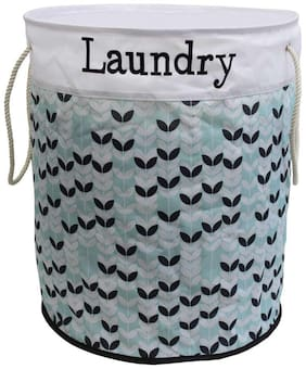 ROYALDEAL Polyester Assorted Laundry Basket ( Set of 1 )