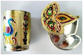 Royals pride Serve Glass with Sindoor Dani tilak chopra