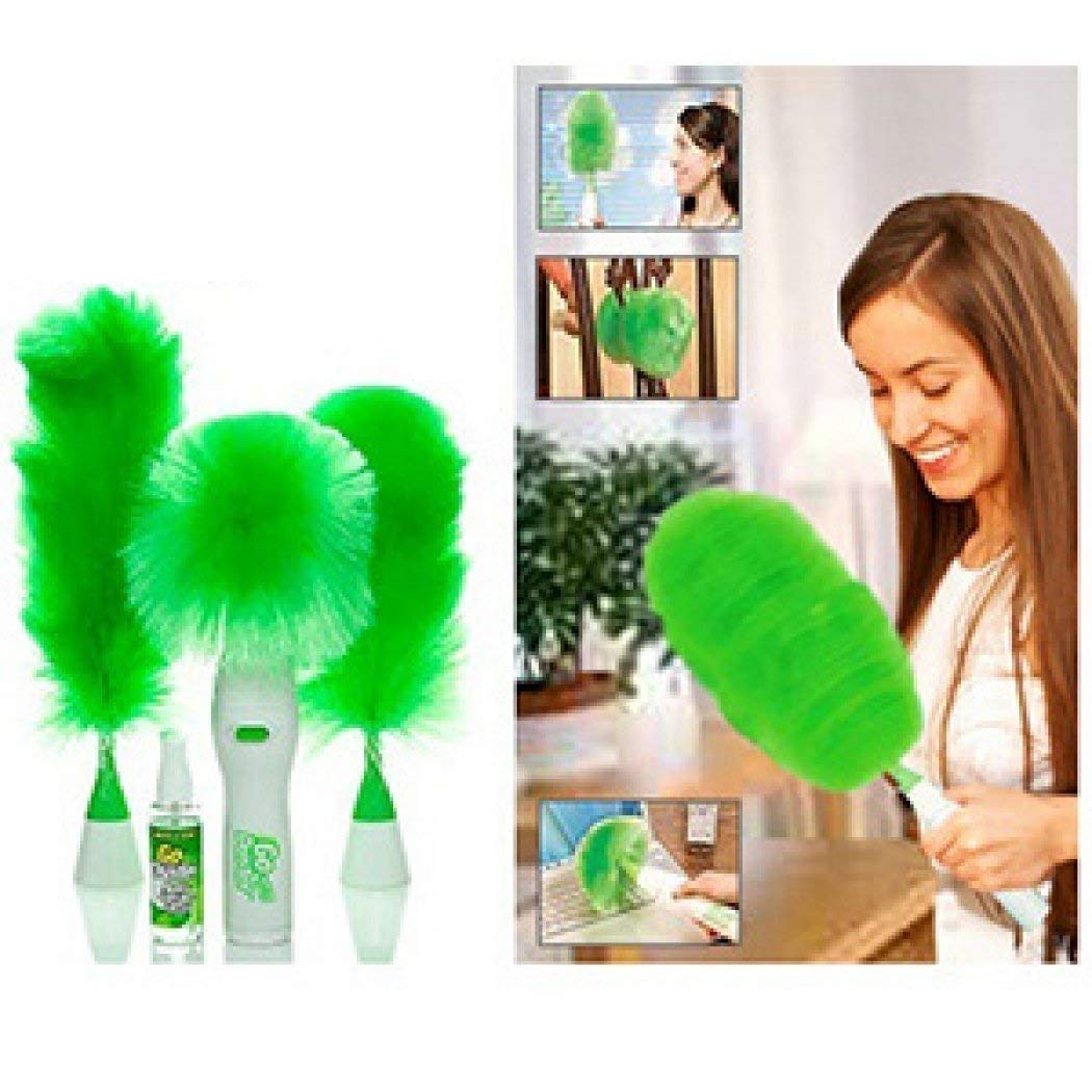 Royaltail Holding Electric Feather & Hand-Held Grabbing Spin Duster with Blinds Dust...